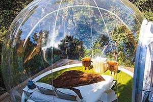 Inflatable Transparent Bubble Lodge Tent