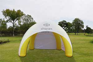 inflatable car show tent
