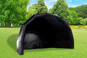 Inflatable Black Stage Cover Tent WST-101