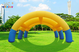 Inflatable arch tent WST-022