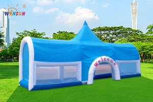 Inflatable giant castle tent WST-030
