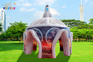 Inflatable Outer Space Rocket Tent WST-068