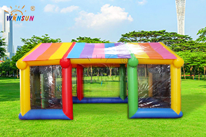 Colorful Transparent Inflatable Tent WST-083