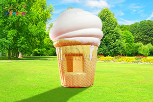 Inflatable Ice Cream Stand WST-086