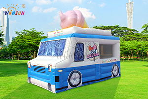 Inflatable Ice Cream Truck Tent WST-088