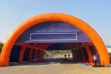Concerns about an inflatable tent