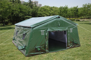 Green Inflatable Military tent