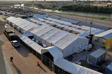 Tent courthouses for migrants to open along Texas border, as questions abound